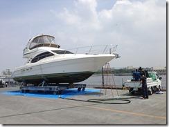 44フィート艇@夢の島マリーナ
