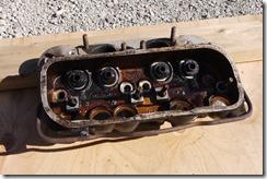VWハイルーフキャンパー エンジン部品Ice Blast™剥離洗浄
